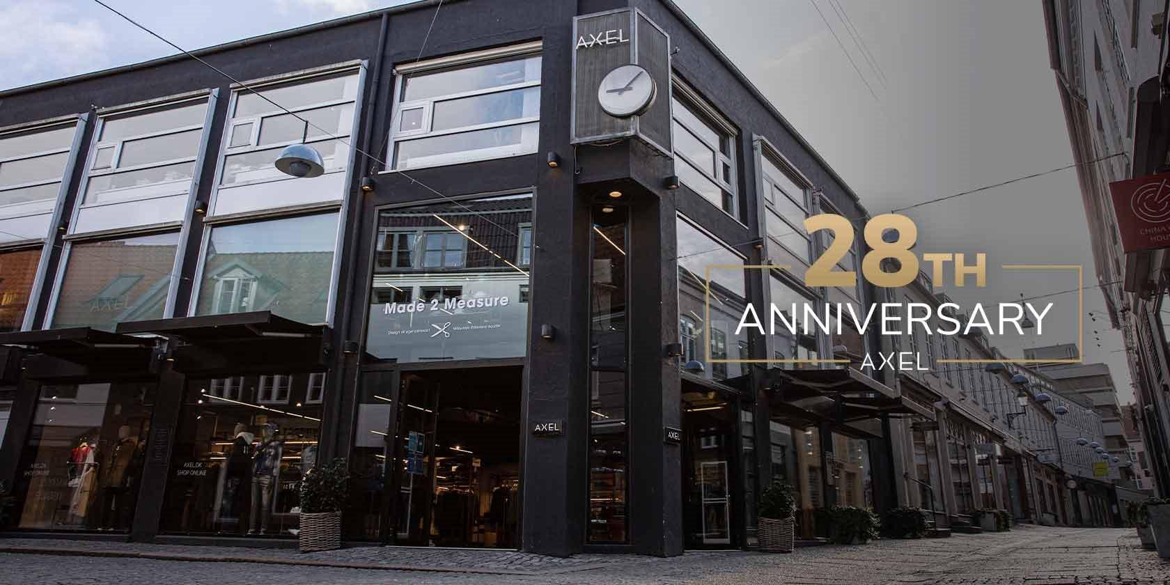 Axel anniversary 28th