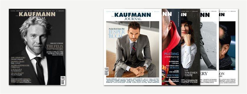 Det nye KAUFMANN magasin er netop udkommet