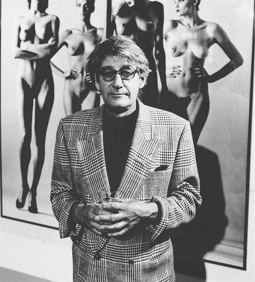 Helmut Newton Naked and Dressed