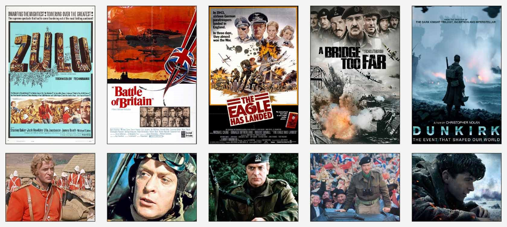 Michael Caine war films