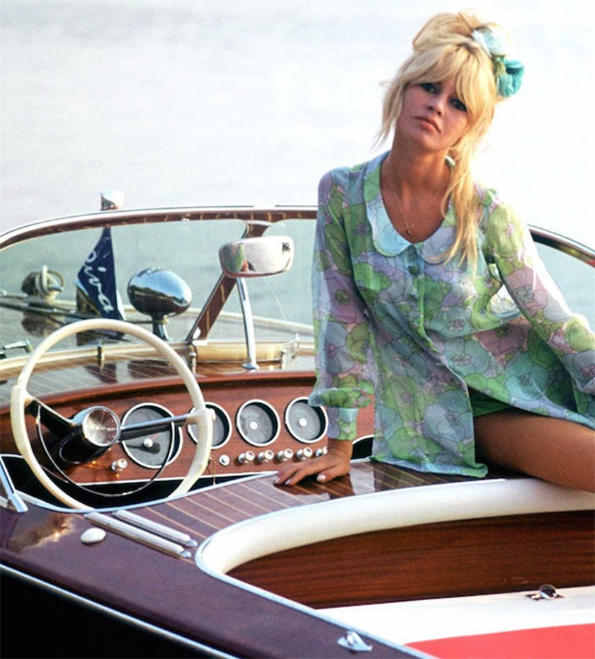Riva yacht Brigitte Bardot