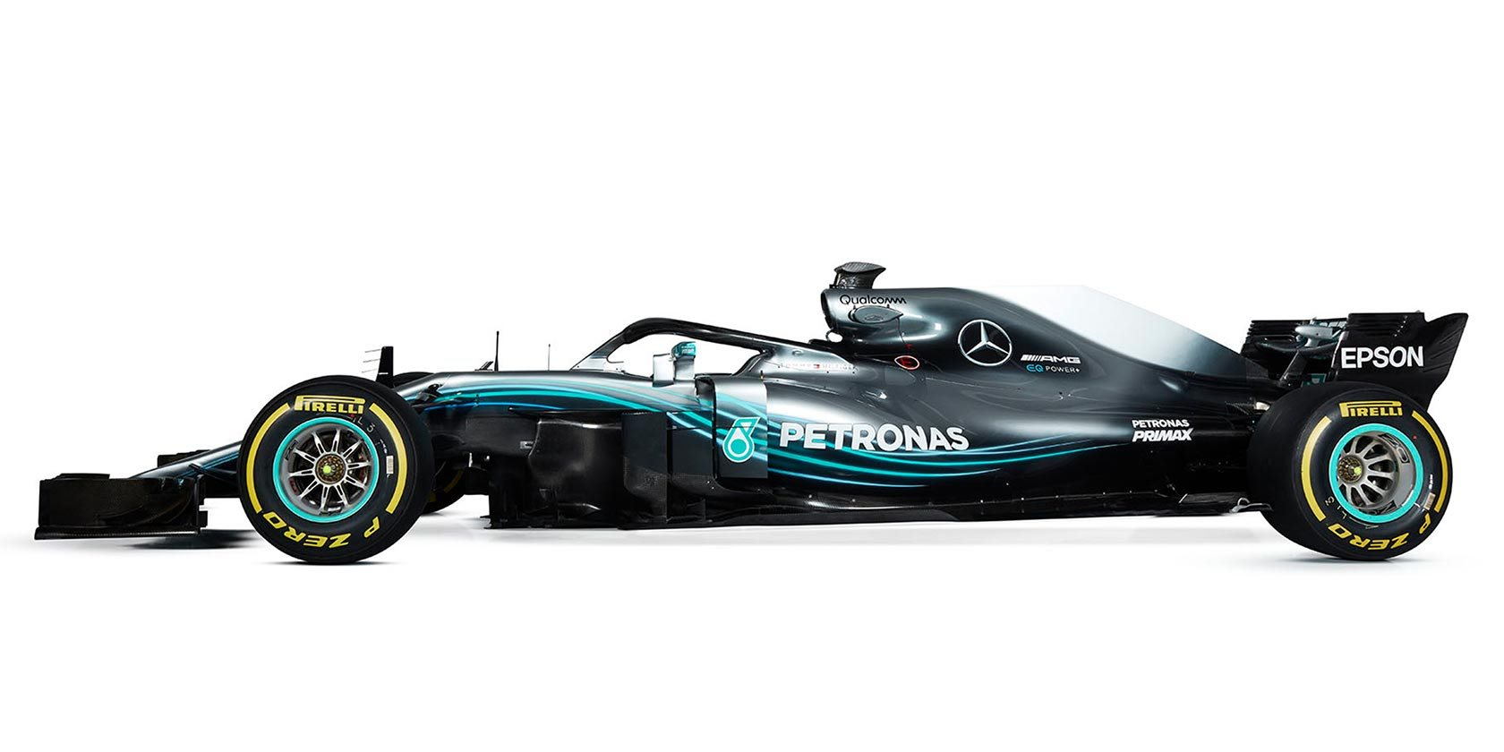 Lewis Hamilton Mercedes AMG Patronas W09 EQ Power+
