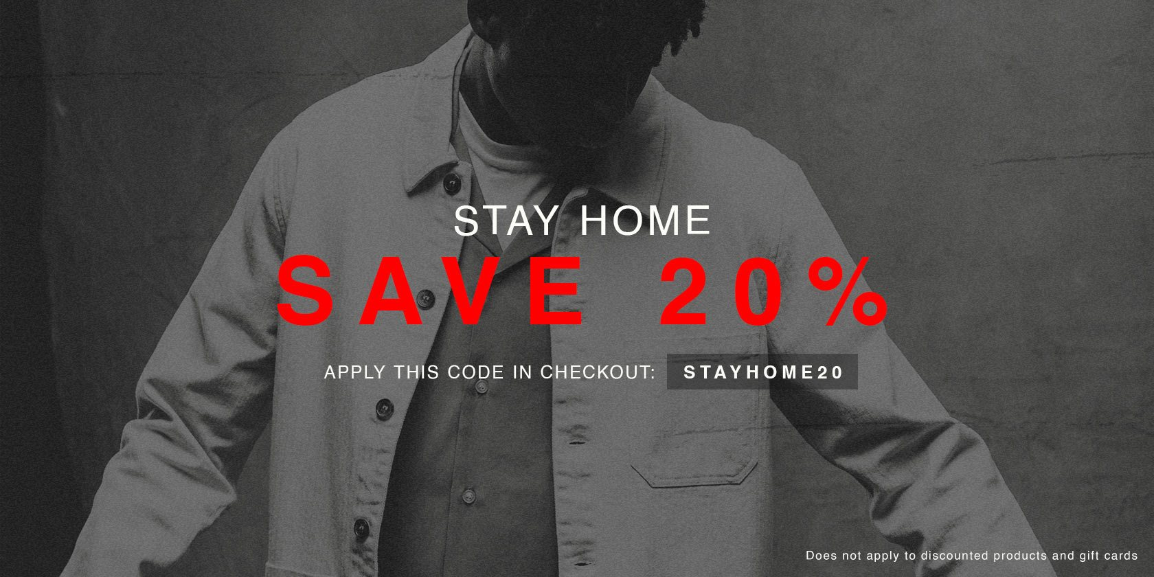Stay Home 20%