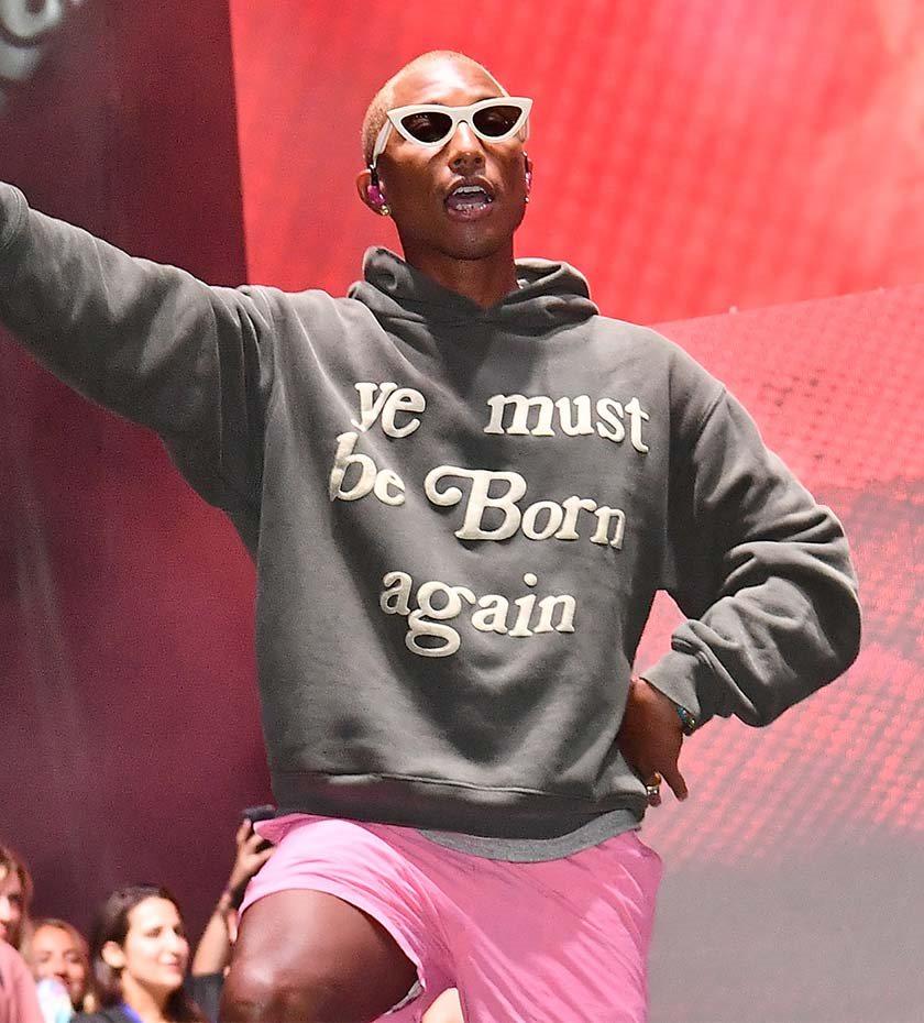 Modeikonet Pharrell Williams